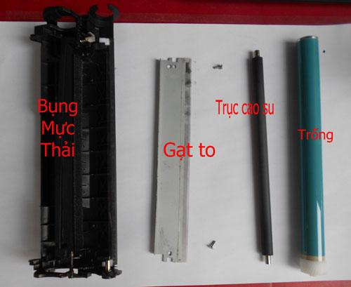 Mán chứa mực thải của hộp mực canon 3300