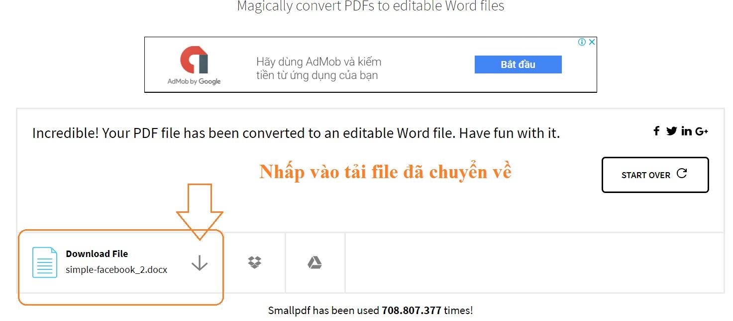 Cách chuyển file pdf sang word dễ dàng nhất