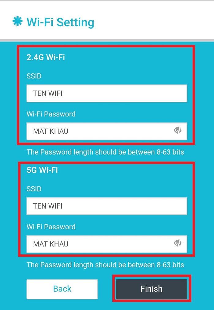 Cách đổi tên wifi và pass wifi totolink