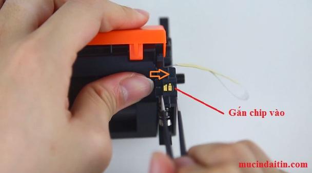 Cách gắn chip máy in hp M102 M130 M227