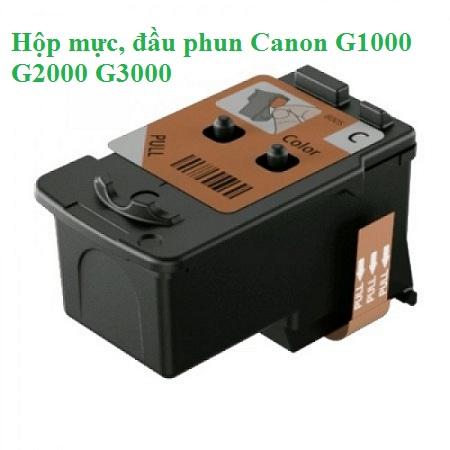 Khắc phục máy in Canon G1000 G2000 G3000 lỗi 5200, 5B00 - Mực in Đại Tín