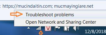 Sửa lỗi mạng wifi bị dấu chấm than