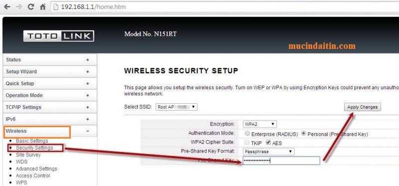 Cách đổi pass wifi totolink mới nhất