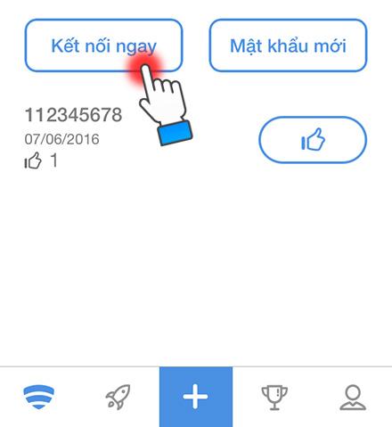 Cách sử dụng phần mền wifi chùa trên iphone