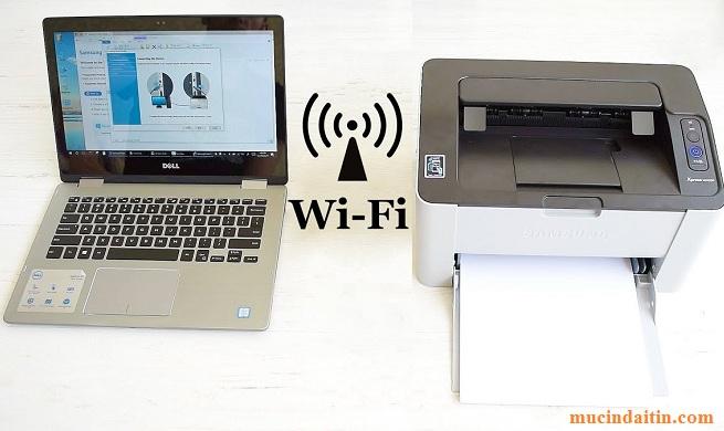 Cách kết nối máy in qua mạng wifi cho nhiều máy cùng in
