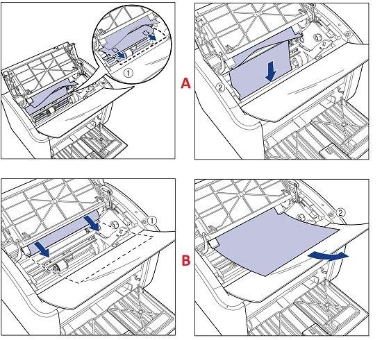Cách lấy giấy bị kẹt ra khỏi máy in