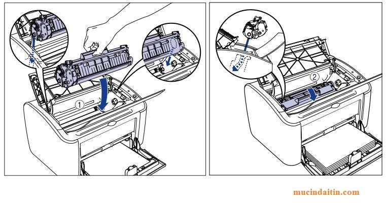 Cách lấy hộp mực ra khỏi máy in