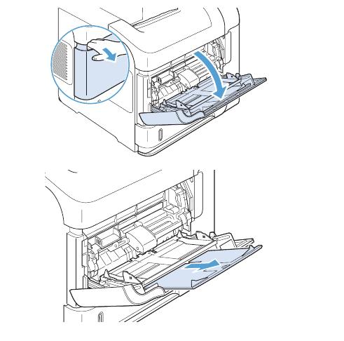 Cách cho giấy vào máy in hp