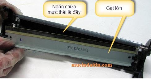Cách đổ mực thải hộp mực máy in