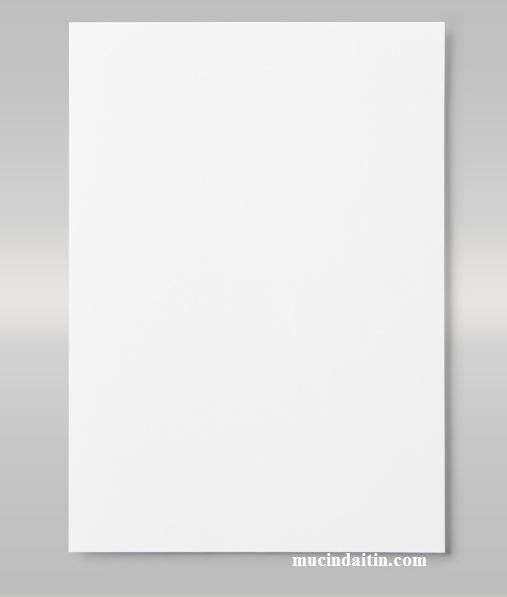 Máy in in ra giấy trắng không có chữ