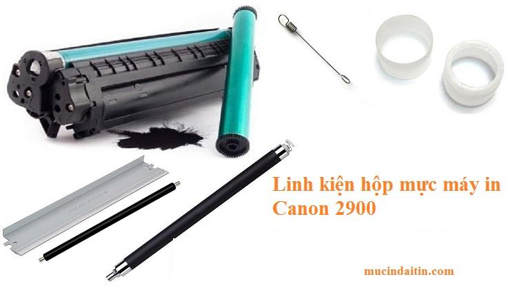 Sửa hộp mực máy in Canon 2900 bị đen nền, xám nền