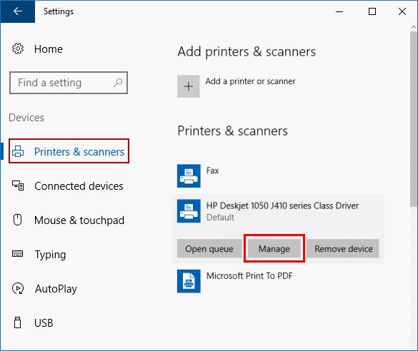Tìm địa chỉ ip của máy in trên máy tính