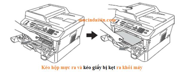 Cách lấy giấy bị kẹt trong máy in brother đa chức năng