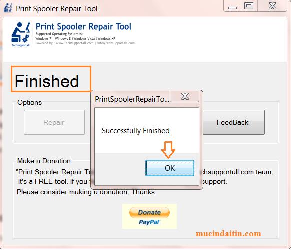 By B Hints || Fix Loi Spooler Printer Win 7