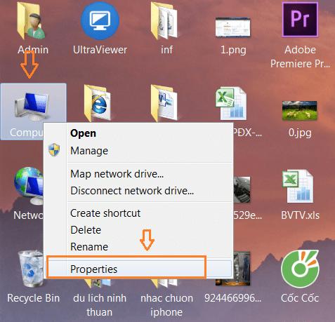 Cách xem thông số cấu hình máy tính, laptop win 7