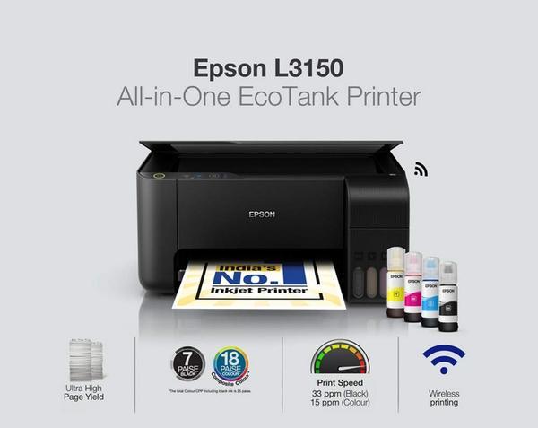 Máy in epson L3150 in đa năng qua wifi