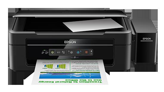 Máy in epson L405 in copy fax in qua wifi