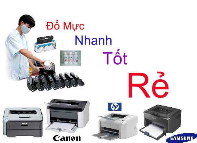 Sửa máy in tại nhà nhanh tốt rẻ tại tphcm
