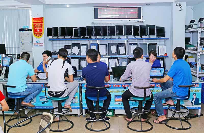 Sơn Đạt sửa chữa máy in, máy tính Hải Phòng