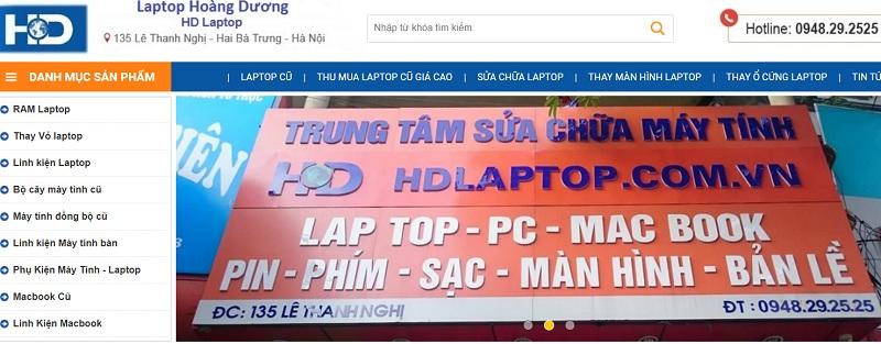 HD laptop chuyên mua bán laptop cũ