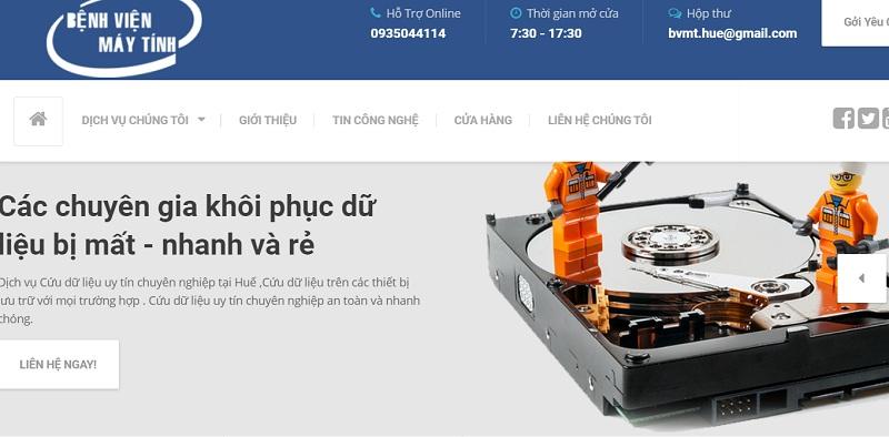 Bệnh viện máy tính sửa máy tính, laptop tại Huế