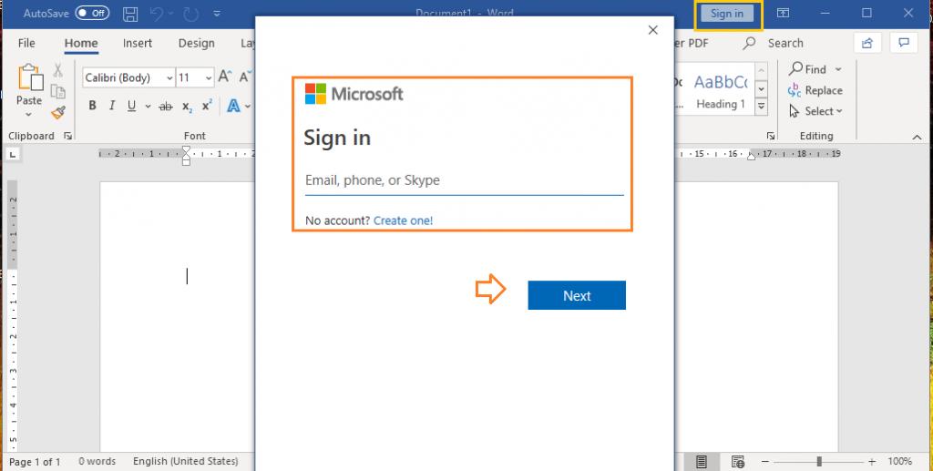 Cách đăng nhập microsoft office 365