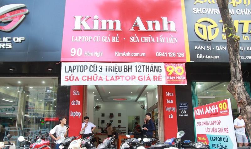 Cửa hàng sửa laptop kim anh lấy liền tại đà nẵng
