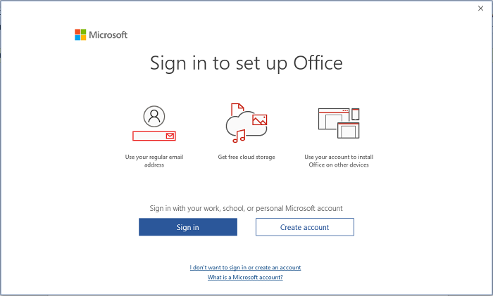 Crack Office 365 Sign in