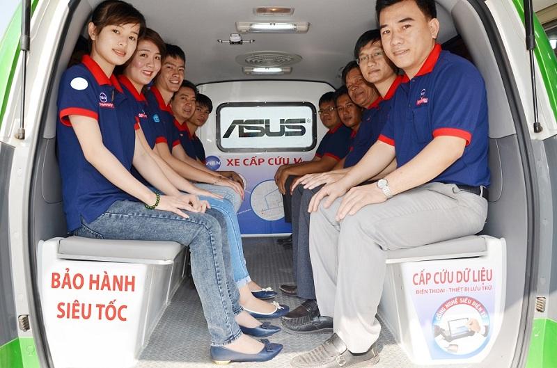 Dịch vụ giao nhận bảo hành tận nơi Asus