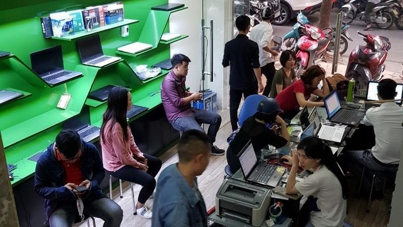 Laptop 911 công ty sửa chữa mua bán laptop cũ tại hà nội