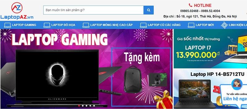 Mua laptop cũ gaming tại Hà Nội