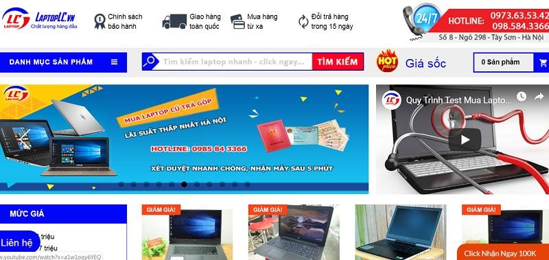 Địa chỉ bán laptop cũ giá rẻ uy tín laptop Lc