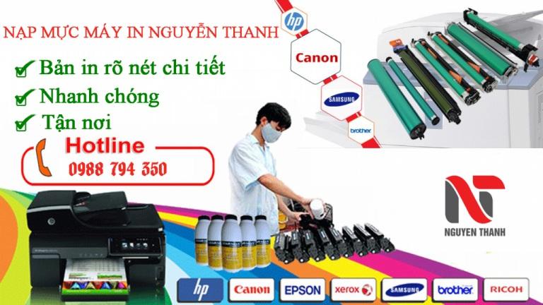 Nguyễn thanh dịch vụ sửa máy in tại nha trang