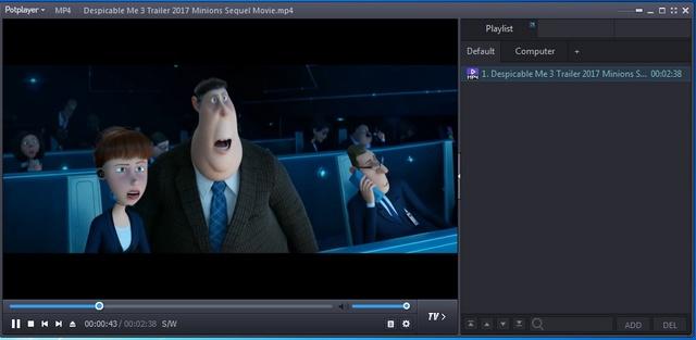 Phần mềm xem video mang cảm giác sống động