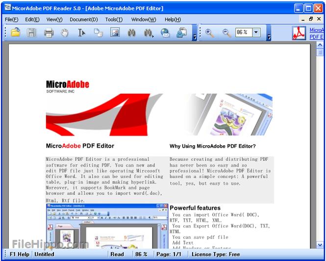 Phần mềm đọc file pdf