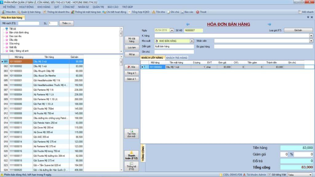 Phần mềm quản lý bán hàng miễn phí rất cần thiết
