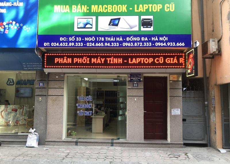 Trung tâm sửa máy tính, laptop uy tín lấy ngây tại chổ