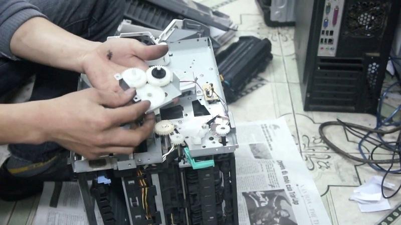 Sửa máy in những lỗi thường gặp nhất
