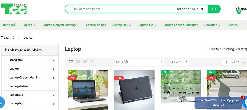 TTC laptop cửa hàng bán laptop cũ giá rẻ tại hà nội