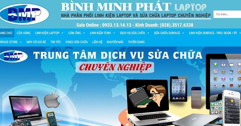 Bình minh phát sửa laptop chuyên nghiệp
