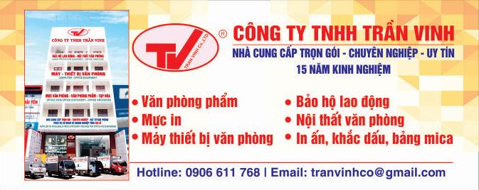 Văn phòng phẩm Trần Vinh ở Vũng Tàu