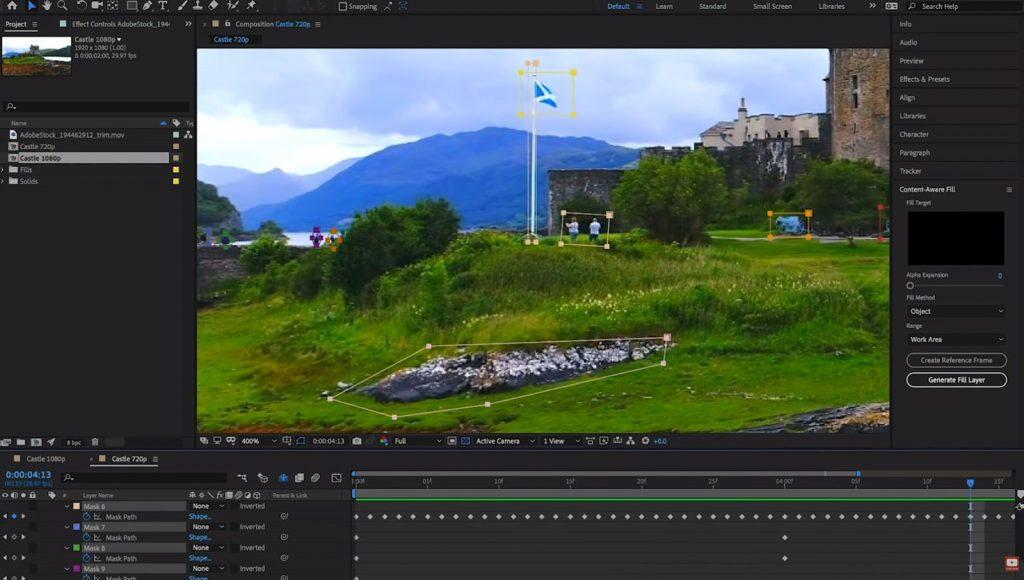 Sử dụng phần mềm làm video khi cần hình ảnh đẹp