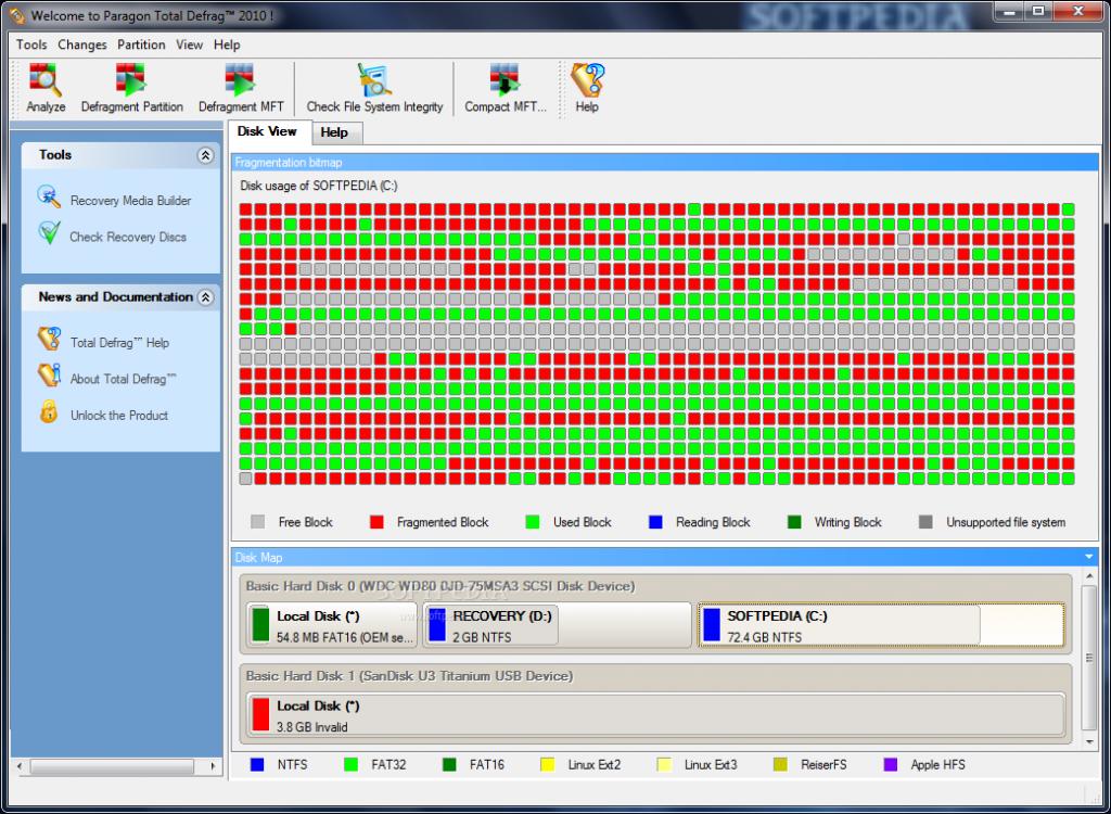 Phần mềm chống phân mảnh ổ cứng