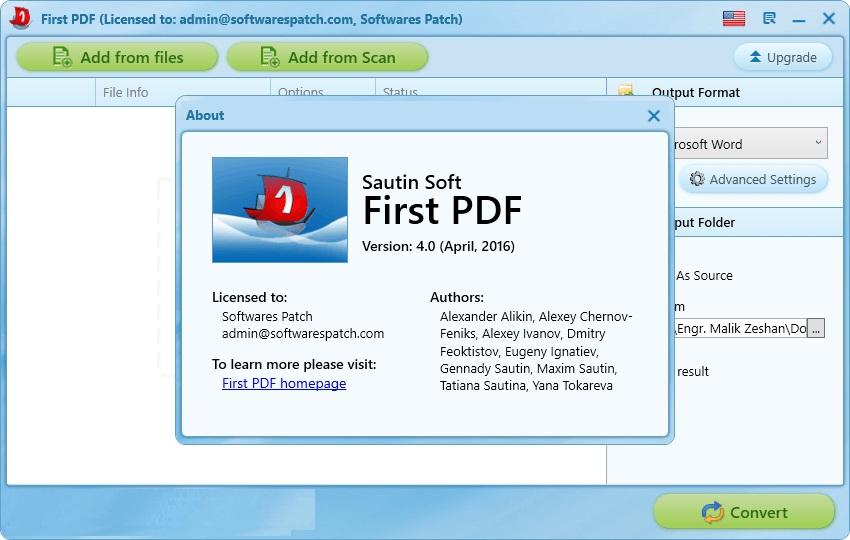 Phần mềm chuyển file ảnh sang word