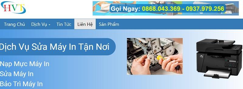 Địa chỉ công ty dịch vụ sửa máy in gần quận tân phú