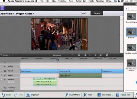Adobe premiere elements là phần mềm biên tập phim được yêu thích