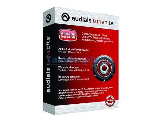 Audials Tunebite cũng là một  phần mềm download tải youtube tốt
