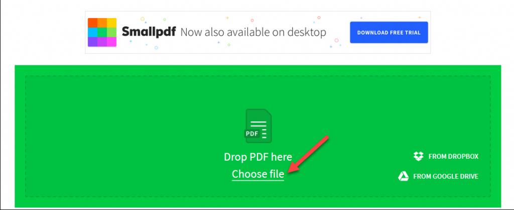 Chuyển đổi pdf sang excel thông qua công cụ trực tuyến đơn giản