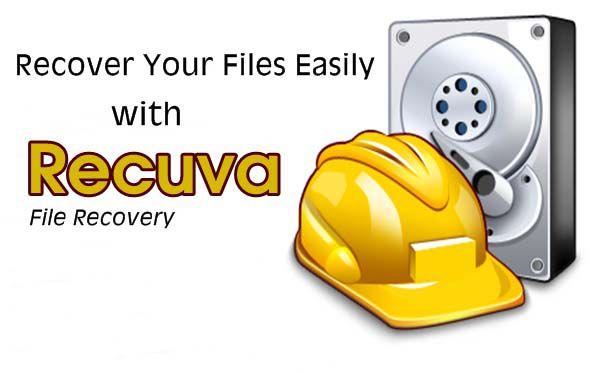 Phần mềm hiển thị file bị ẩn Recuva