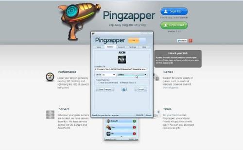 Phần mềm PINGZAPPER